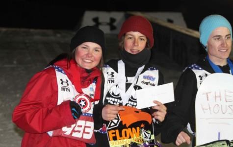 Emma Crosby wins silver at Snowboard Nationals