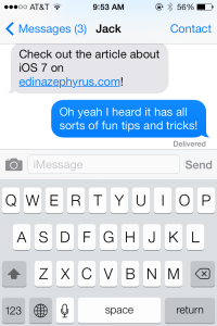 iOS 7: Tips and Tricks