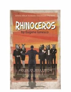 "A One Act Play: ""Rhinoceros"""