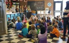 DECA Students Teach Second Graders Business Basics