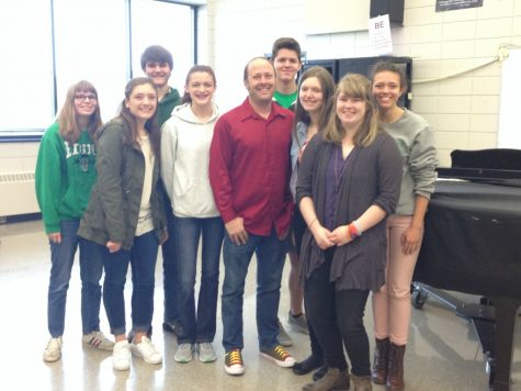 Author of Thirteen Reasons Why, Jay Asher, visits EHS