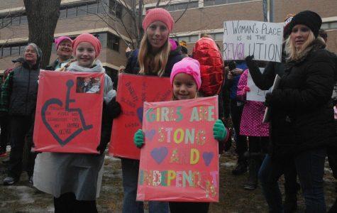 Women's March: St. Paul