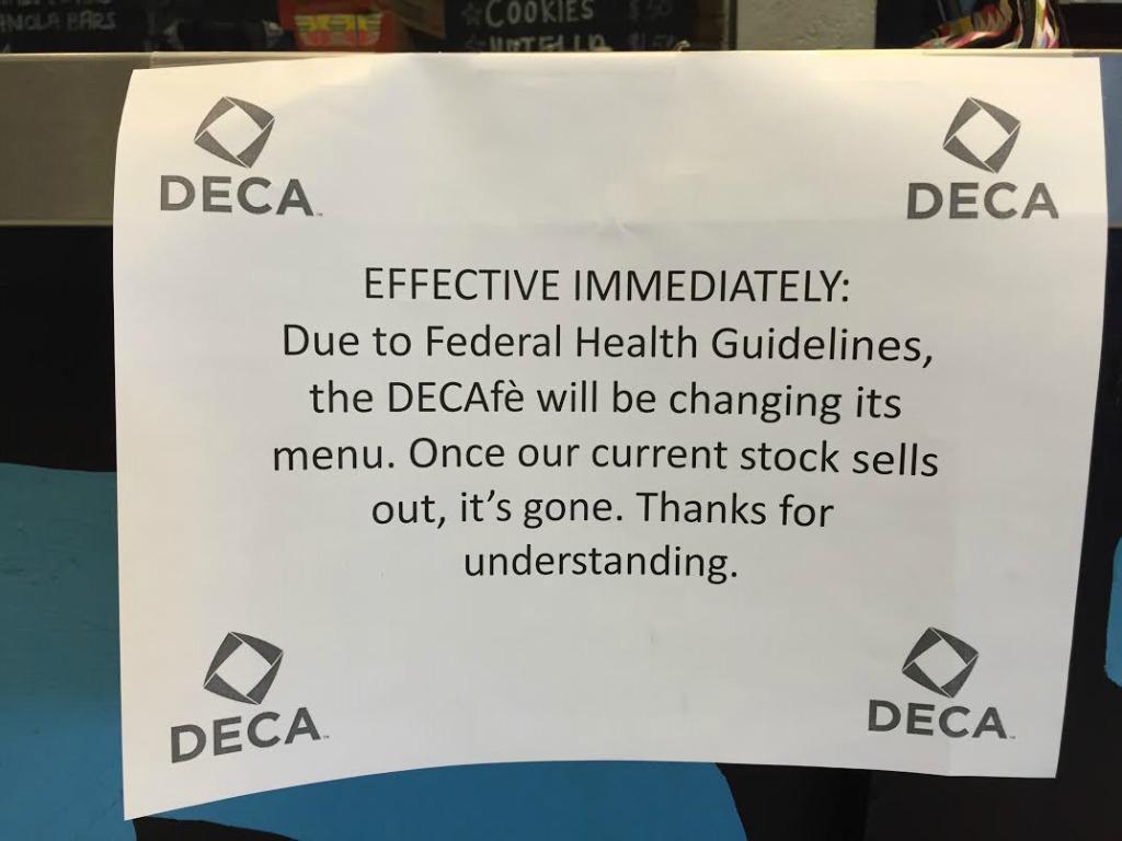 decafe disclaimer
