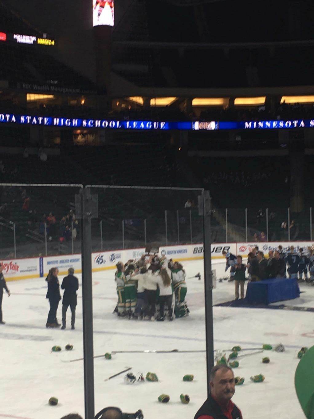 Varisty girls win State!