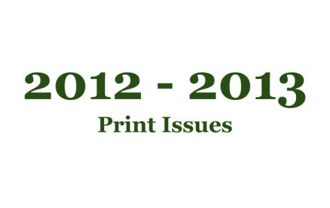 2012-2013 Print Issues