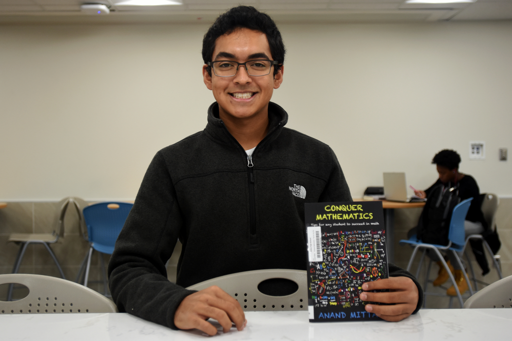 Senior Anand Mittal's book