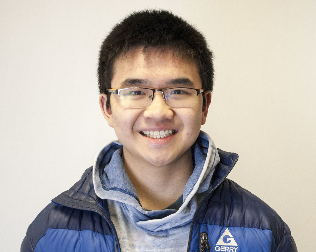 Senior Richard Zhu took five Advanced Placement classes his junior year alone.