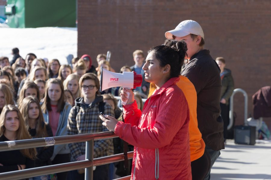 Students Participate in Nationwide Walkout for Gun Control