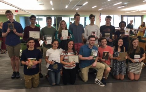 EHS' Juniors Recognized by Universities at Annual Book Awards Ceremony